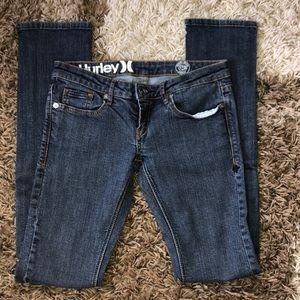 Hurley Dark Wash Skinny Jeans